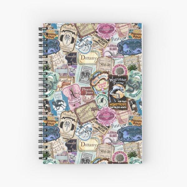 Magical Apothecary Spiral Notebook