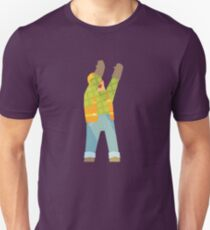 Builder Signaling On Construction Site T-Shirt