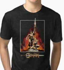Conan The Barbarian Tri-blend T-Shirt