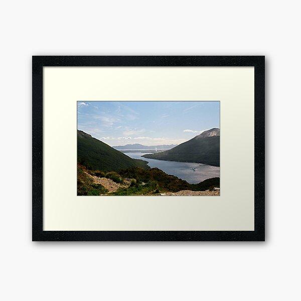 Tierra del Fuego - Lake Escondido Framed Art Print