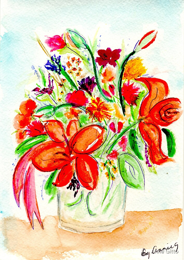 Joan's Bouquet by Anne Gitto