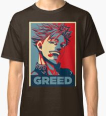 Ban Greed Seven deadly Sins Hope Classic T-Shirt