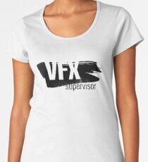 VFX supervisor II. Visual Effects. Women's Premium T-Shirt