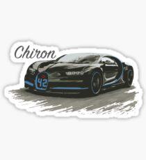 Bugatti Chiron Sticker