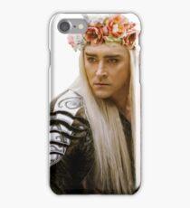 Flower Crown Thranduil iPhone Case/Skin