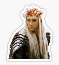 Flower Crown Thranduil Sticker
