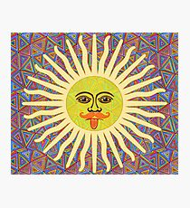 Sun Man  Photographic Print