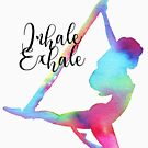 Inhale Exhale with antigravity yoga by balgrittella