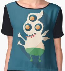 Scurrying Monster Women's Chiffon Top