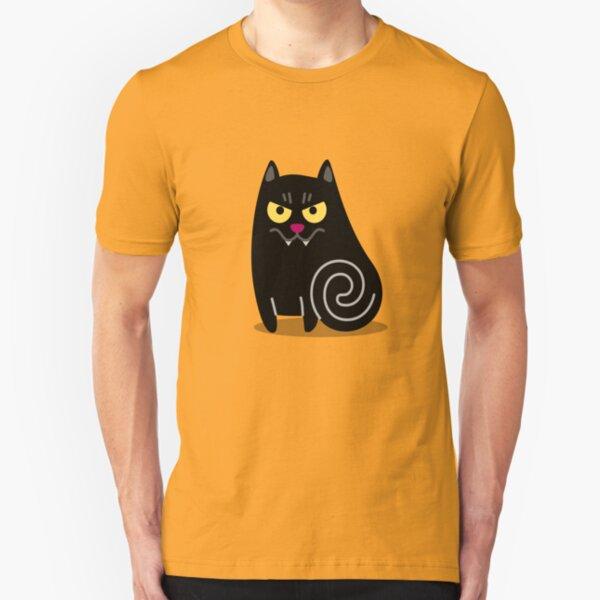 Spookilicious Vampire Cat! Slim Fit T-Shirt