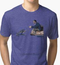 The big Blue Tri-blend T-Shirt