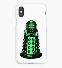 Dalek - Green iPhone Case/Skin