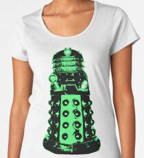Dalek - Green Women's Premium T-Shirt