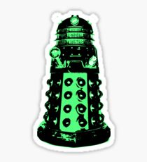 Dalek - Green Sticker