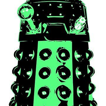 Dalek - Green by StefanH13