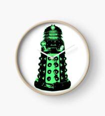 Dalek - Green Clock
