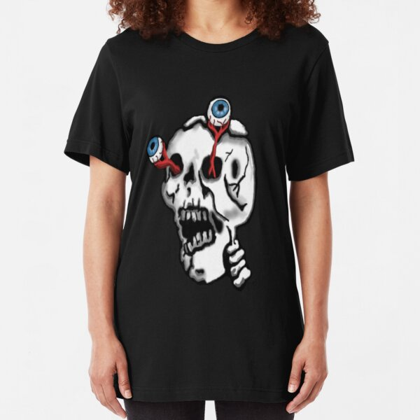 skull monster Slim Fit T-Shirt