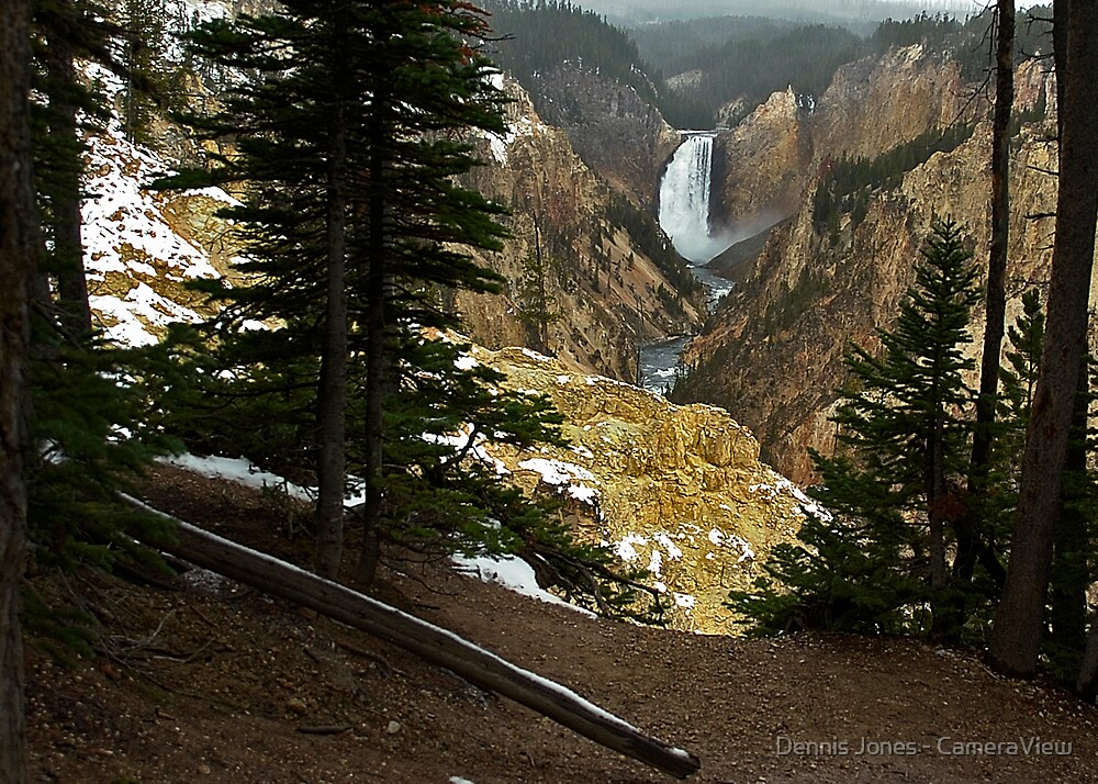 Upper Yellowstone Falls by Dennis Jones - CameraView