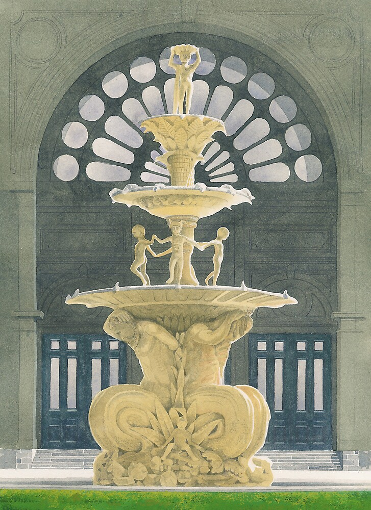 Exhibition Gardens Fountain by IanB