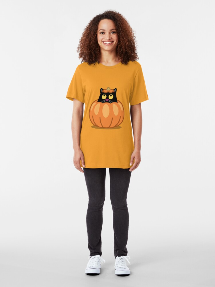 Alternate view of Did somebody say Candy? Slim Fit T-Shirt