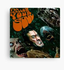 I'll Swallow Your Soul / Rubber Soul Canvas Print