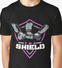 The Shield Pink Logo Graphic T-Shirt