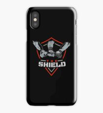 The Shield Red Logo iPhone Case/Skin
