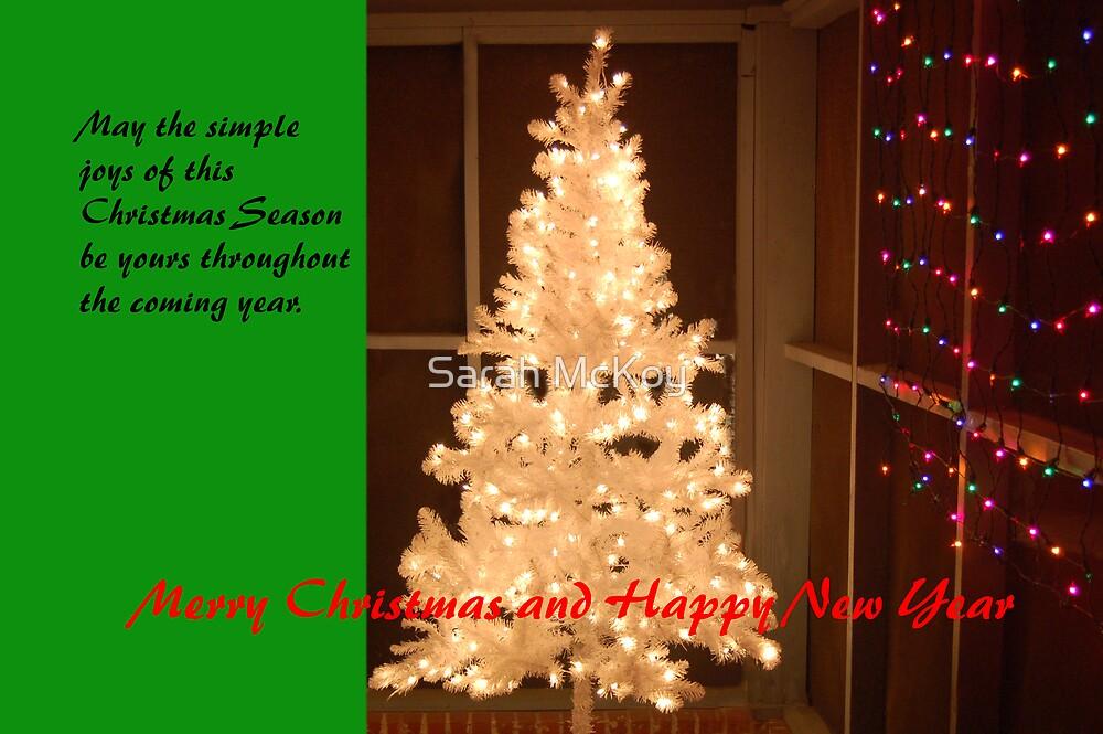 Christmas Tree Card by Sarah McKoy