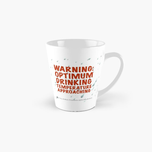 Warning! Tall Mug