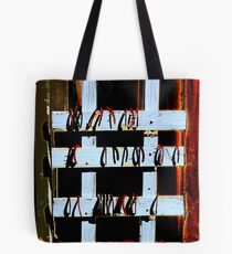 Anyone for a Game of Horse Shoes? Tote Bag