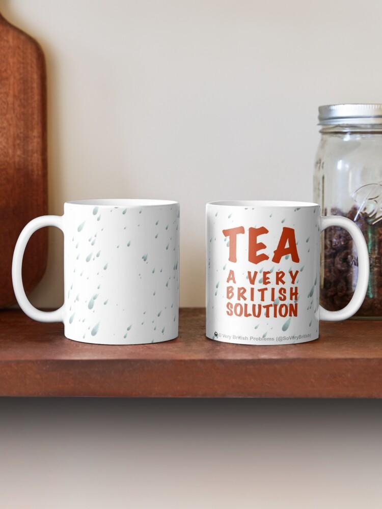 Alternate view of Tea: A Very British Solution Mug
