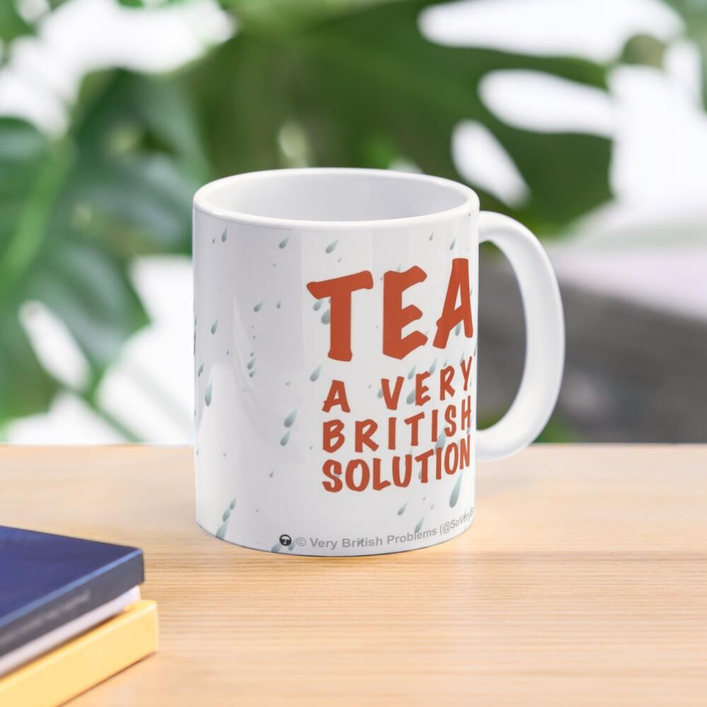 Tea: A Very British Solution Mug