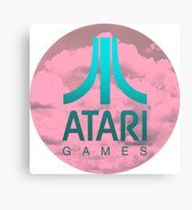 Cloudy Atari Canvas Print