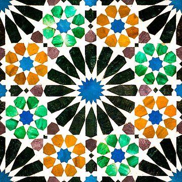 Alhambra tessellation by puratura