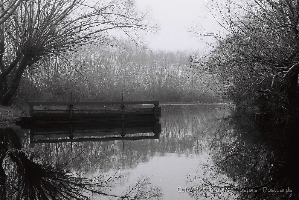 South Esk River, Perth by Cafe Photographs - Posters - Postcards