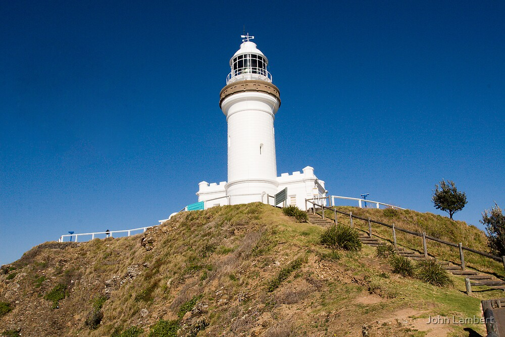 Byron Bay Lighthouse by John Lambert