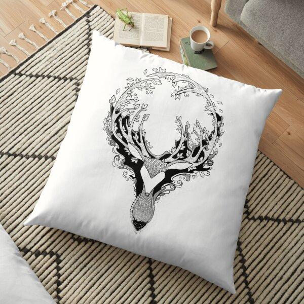 De Deer by Pet de Pineapple Floor Pillow