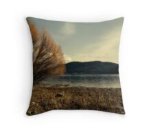 Dream of a Lake Throw Pillow