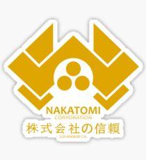 Nakatomi Sticker