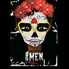 Amen Skull by KLCreative