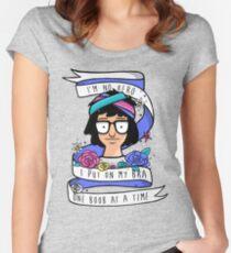 I'm No Hero Women's Fitted Scoop T-Shirt