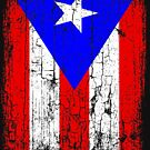 Vintage Puerto Rico Flag  by EthosWear
