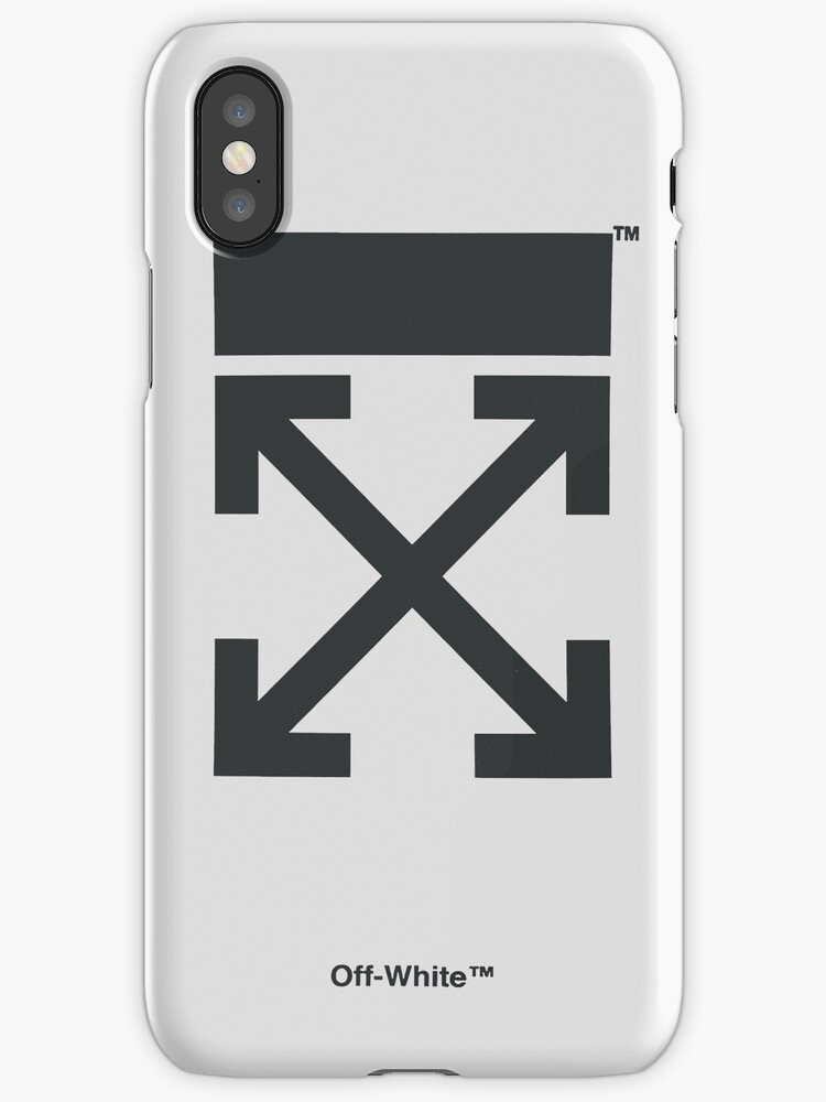 Quot Off White Style Virgil Abloh Phone Case Off White White