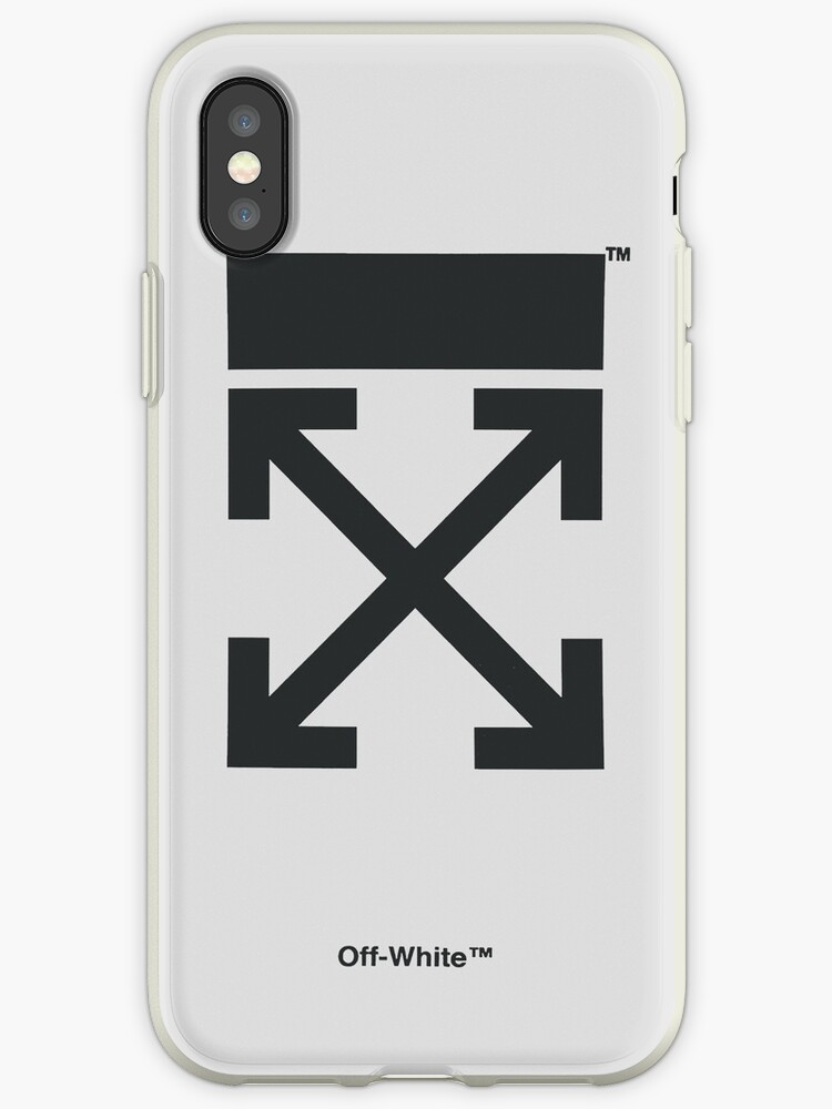 b6ca8509a Off-White Style Virgil Abloh Phone Case Off White White