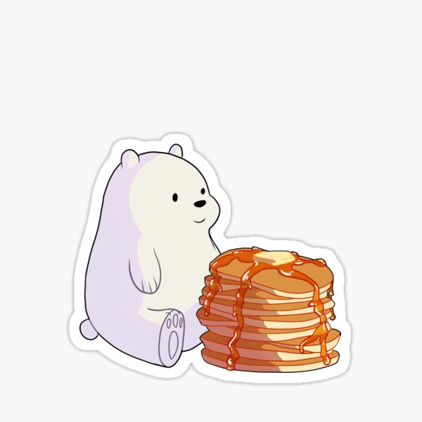 Ice Bear's sweater weather Sticker