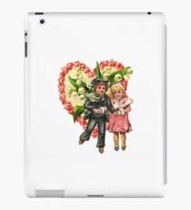 VALENTINE SWEETHEART SKATERS iPad Case/Skin