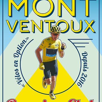 Chris Froome Mont Ventoux Running Club by CycloBuzz