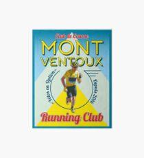 Lámina de exposición Chris Froome Mont Ventoux Running Club