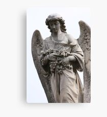 Sorrowful Angel Canvas Print