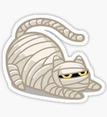 The Mummy Cat! Sticker